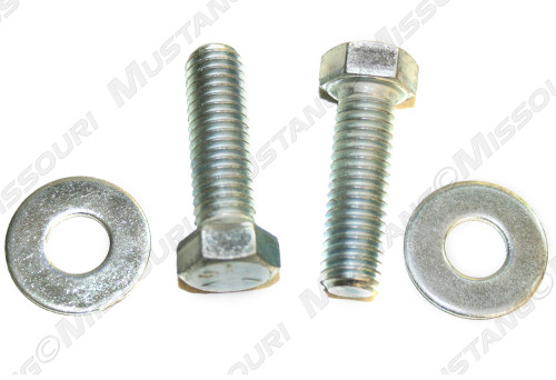 1964-1968 Ford Mustang rear bumper bracket bolt kit.  Mounts one bracket.
