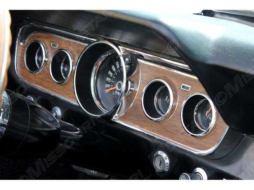 1965-66 Instrument Bezel Installed