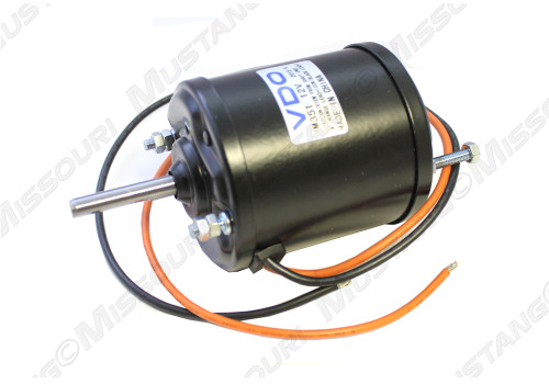 1969-1973 Ford Mustang non vented heater blower motor for models without factory in-dash air conditioning.