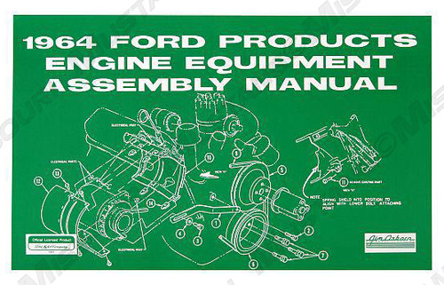 1964-69 Engine Component Assembly Manual