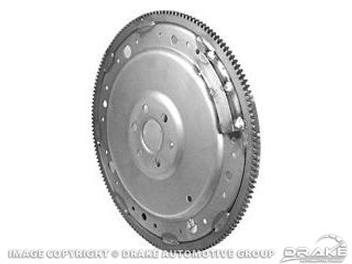 1969-1973 Ford Mustang automatic transmission flex plate or flywheel.  Fits 302 and 351 c.i., C-4 automatic and FMX transmission, 164 teeth.