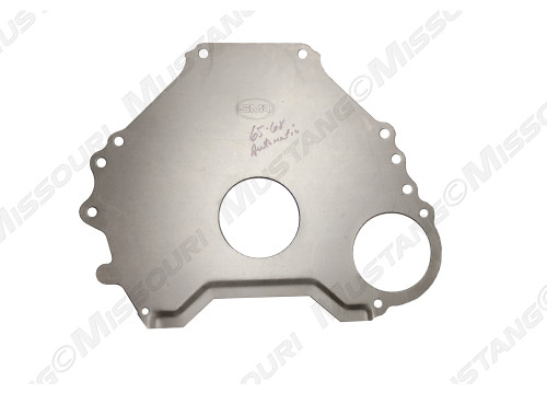 1965-1968 Ford Mustang automatic transmission spacer plate.  Fits 157 teeth flywheels, C-4, 289 6-bolt block only.