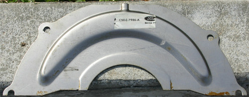 1965-1970 Ford Mustang automatic transmission inspection plate, 6 cylinder. C-4.