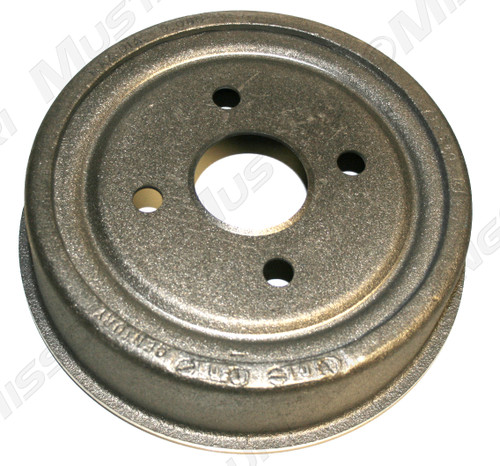 1964-1966 Ford Mustang front brake drum. Size: 9 inch. For all 6 cylinder Mustangs.