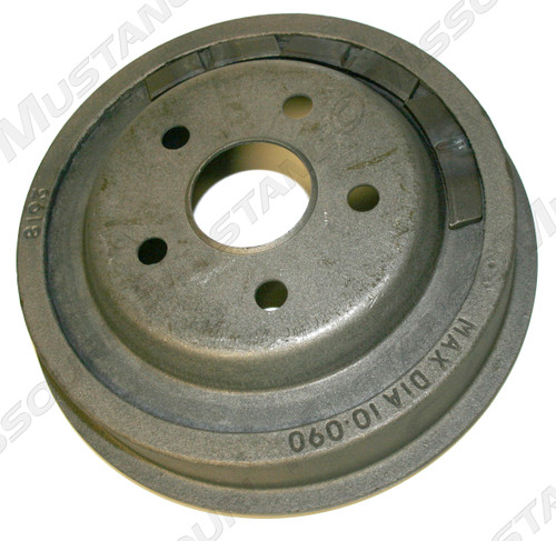 "1964-1972 Ford Mustang rear brake drum, each.  10"" X 1 3/4"". Fits all V8 models."