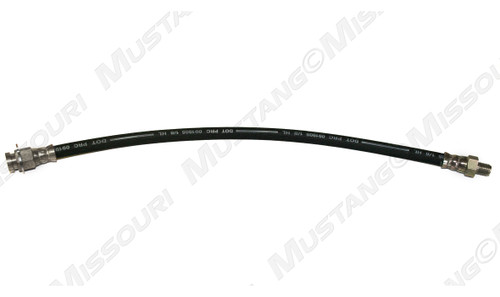 1965-1966 Ford Mustang disc brake hose, fits left or right side, each.
