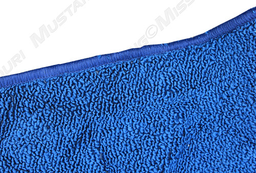 1965-1968 Ford Mustang fastback molded carpet.