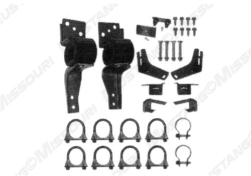 1967-1969 Ford Mustang Dual Exhaust Hanger Kit