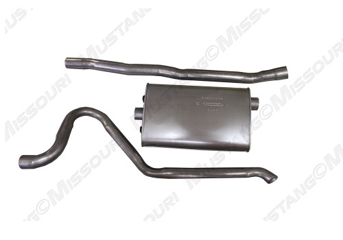 1968-1970 Ford Mustang single exhaust kit for V8.