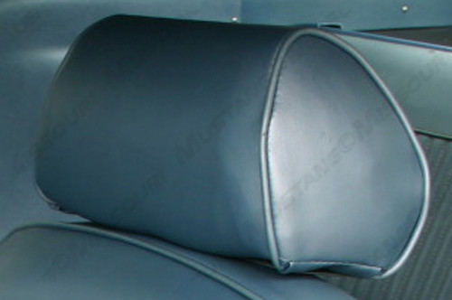 1968-1969 Ford Mustang headrest upholstery, pair.