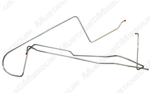 1968-70 Ford Mustang pump to tank fuel line.
