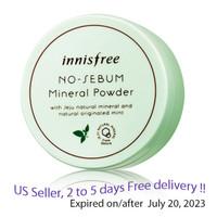 Innisfree No Sebum Mineral Powder 0.18 Oz/5g + Free Gift Sample !!