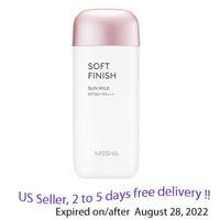 MISSHA All Around Safe Block  Soft Finish Sun Milk SPF 50 PA++++, 70ml + Free Sample!