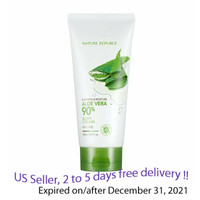 Nature Republic 90% Aloe Vera Soothing & Moisture Body Cream 150ml + Free Gift Sample !!
