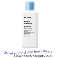 Dr.Jart+ Every Sun Day Sun Fluid 100 ml + Free Sample !!