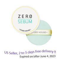 Etude House Zero Sebum Drying Powder 6g + Free Gift Sample !!
