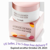 Heimish Hydrogel Bulgarian Rose Water  Eye Patch  60 Patches  + Free sample !!