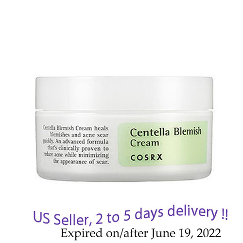 COSRX Centella Blemish Cream 30ml  + Free sample !!