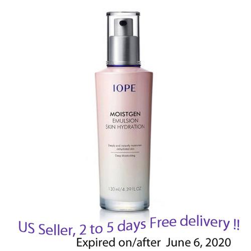 IOPE Moistgen Emulsion Skin Hydration 130ml + Free Gift Sample !!
