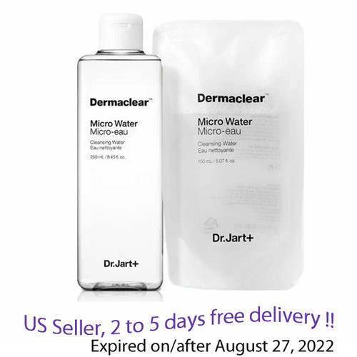 Dr.Jart+ Dermaclear Micro Water 250ml + Gift refill 150ml
