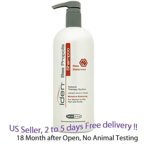 iden bee propolis balanced shampoo 32 oz, 1 unit for normal to oily hair