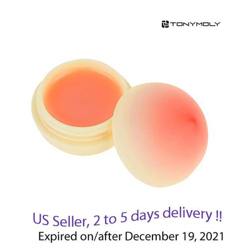 Tonymoly Mini berry lip Balm  peach