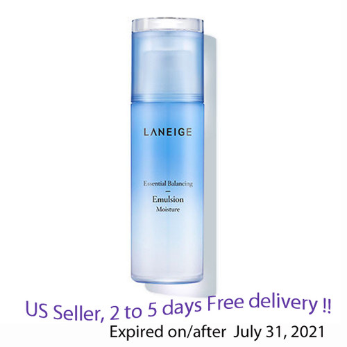 LANEIGE Essential Balancing Emulsion Moisture 120ml + Free Gift Sample !!
