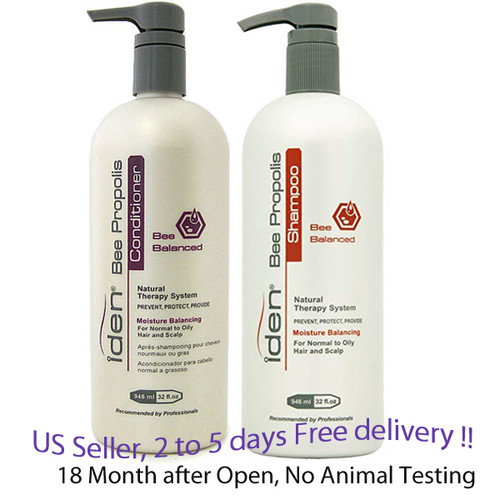 Iden bee balanced shampoo and conditioner 32 OZ, Duo