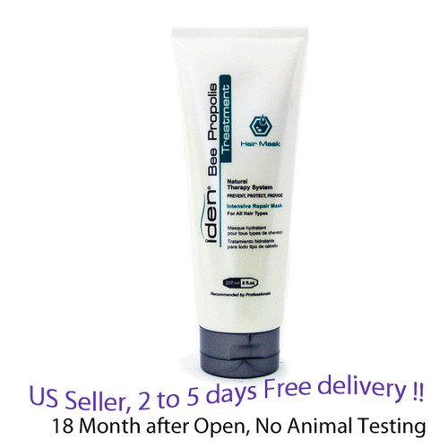 Iden Bee Propolis Treatment Hair Mask 237ml / 8 oz