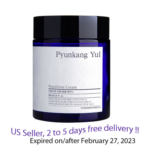 Pyunkang Yul Nutrition Cream 100ml + Free Sample !!