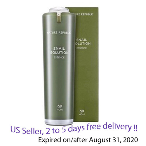 Nature Republic Snail Solution Skin Booster, 120ml + Free sample !!