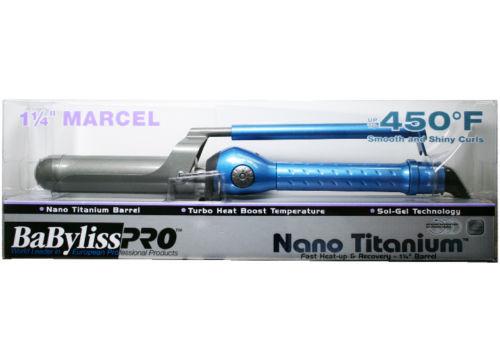 """BaByliss Pro BaBylissPro Nano Titanium 1-1/4"""" Marcel Curling Iron BABNT125M"""