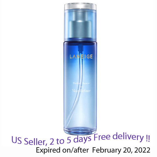 LANEIGE Perfect Renew Skin Refiner Skin Toner 120ml  + Free Sample !!