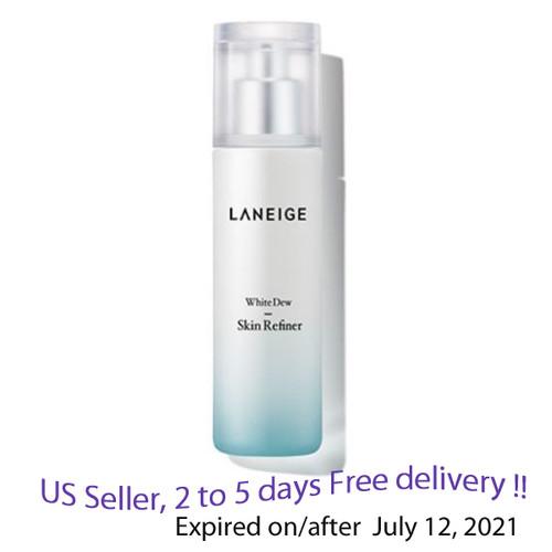 Laneige White Dew Skin Refiner 120ml + Free Sample !!