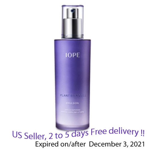 IOPE Plant Stem Cell Emulsion 130 ml + Free Sample !!