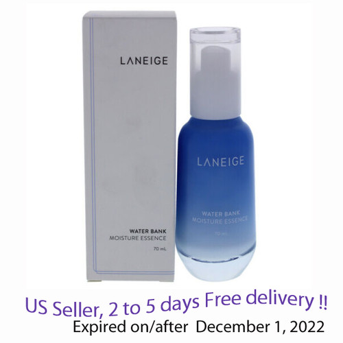 Laneige Water Bank Moisture Essence 70 ml + Free Sample !!