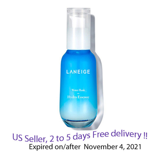 Laneige Water Bank Hydro Essence 70 ml + Free Sample !!