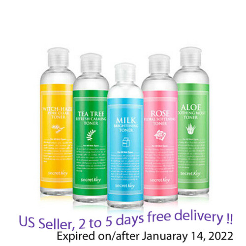 SECRET KEY Toner 248 ml options of 5 kinds + Free Sample !!