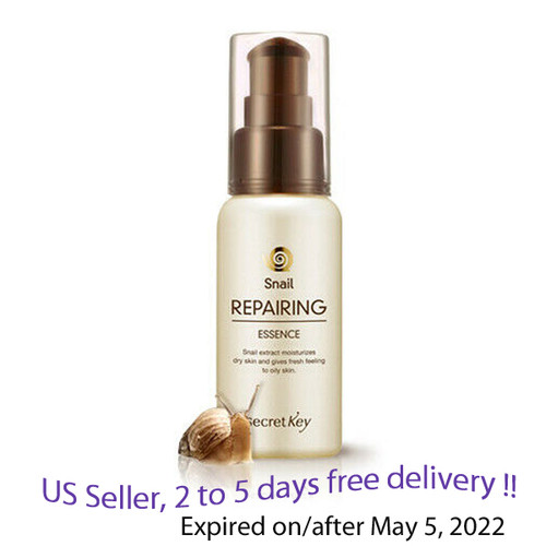 Secret key Snail Repairing  Essence 60 ml + Free Sample !!