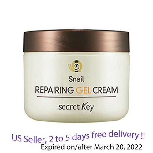 Secret key Snail Repairing  Gel Cream 50 g + Free Sample !!