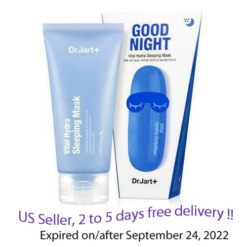 Dr.Jart Good Night Vital Hydra Sleeping Mask 120ml+ Free Sample !!