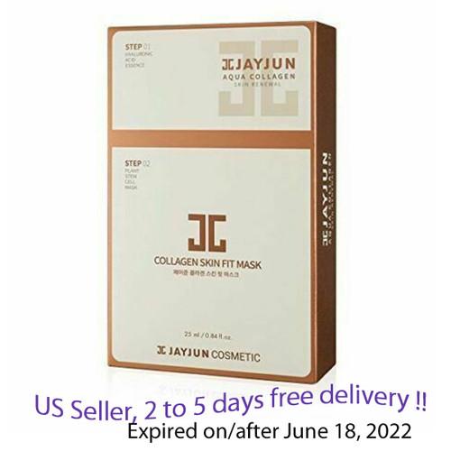 JAYJUN Collagen Skin Fit Mask 25ml, 10 units + Free Sample !!