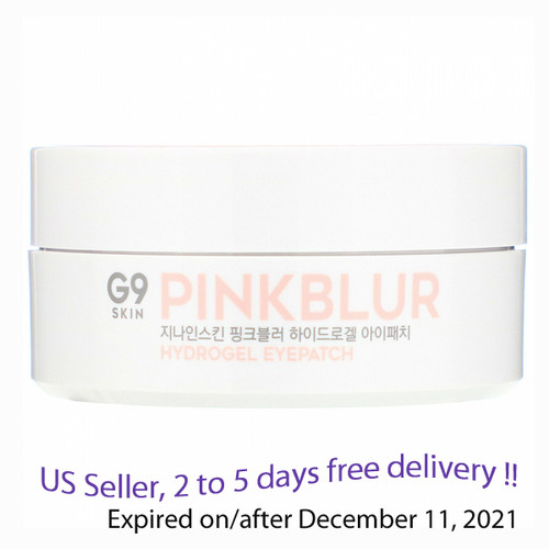 G9 Skin Pink Blur Hydrogel Eyepatch 120 patches(100g) + Free Gift Sample !!