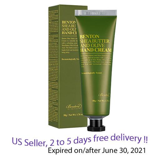 Benton Shea Butter & Olive Hand Cream  + FREE SAMPLE !!