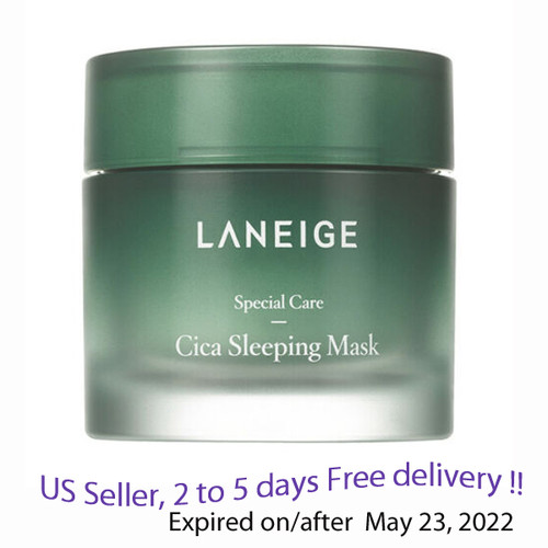 Laneige Cica Sleeping Mask  60ml + Free Sample !!