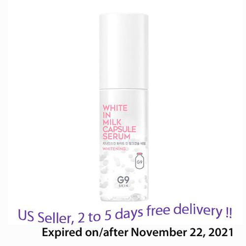 G9 White in Milk Capsule Serum 50ml + Free Gift Sample !!