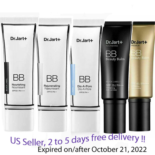 Dr.Jart+ BB Beauty Balm 5 kinds + Free Sample !!