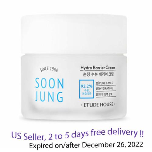 Etude House Soon Jung Hydro Barrier Cream 75ml + Free Gift Sample !!