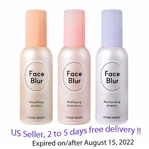 Etude House Face Blur 35g,  3 Type Options + Free Samples