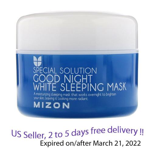 MIZON Good Night White Sleeping Mask 80ml + Free Gift Sample !!